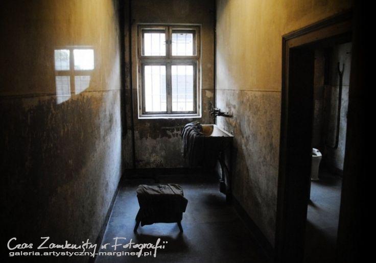 Auschwitz-Birkenau. Pomieszczenie, w którym skazani na śmierć tuż przed egzekucją musieli się rozbierać.
