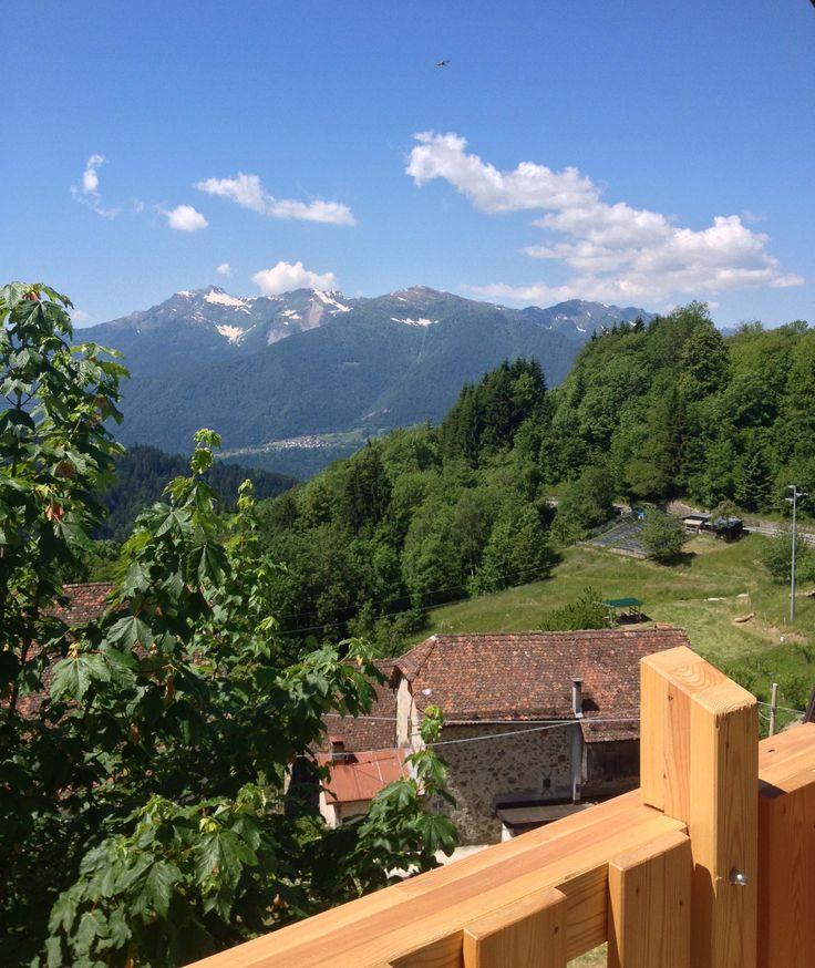 """Aleri di Sot @Salars. If """"il buongiorno si vede dal mattino"""" this is the view when you wake up! :)"""