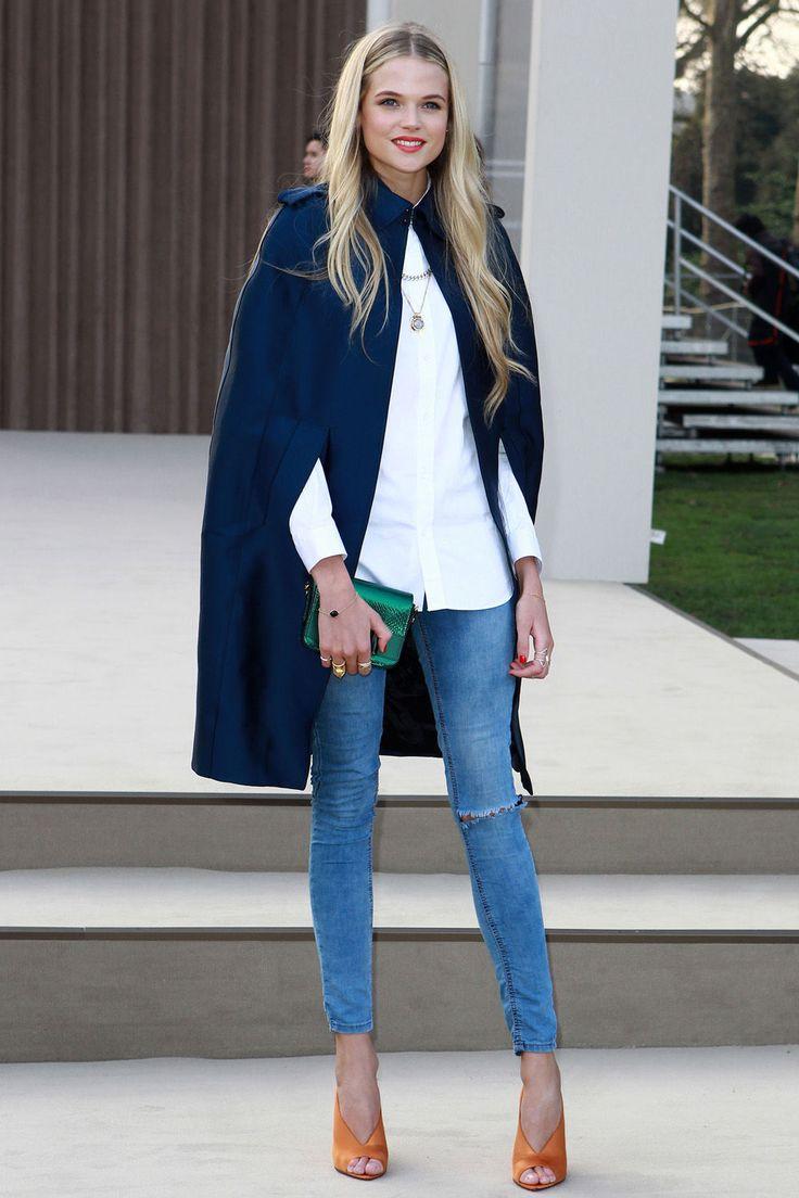 fancy jeans look...Gabriela-Wilde