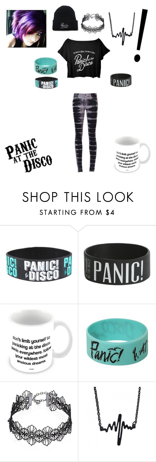 """""""Panic! At The Disco Outfit"""" by serenity-sempiternal2006 ❤ liked on Polyvore featuring Joe's Jeans and Design Lab"""