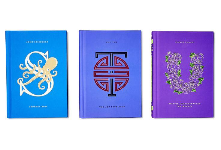 S/3 Alphabet Collection, Purple | One Kings Lane