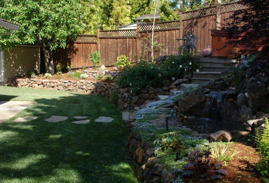 17 best ideas about rock retaining wall on pinterest rock wall gardens garden retaining wall - Building river stone walls with mortar sobriety and elegance ...