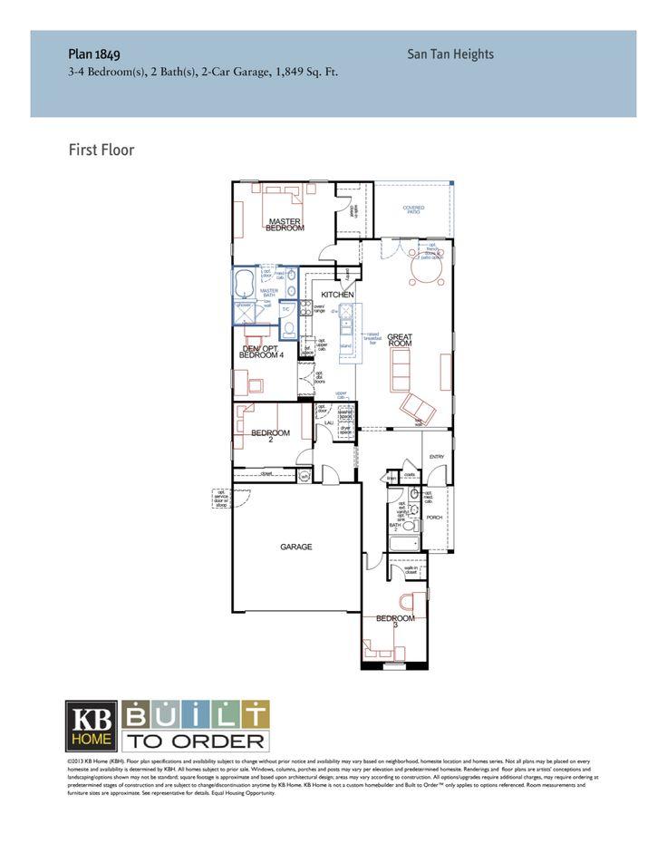Kb homes model 3028