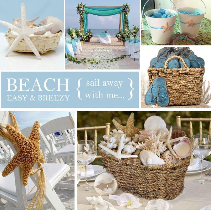 Beach Wedding Gift Basket : wedding breezy wedding beach wedding themes ocean wedding beach ...