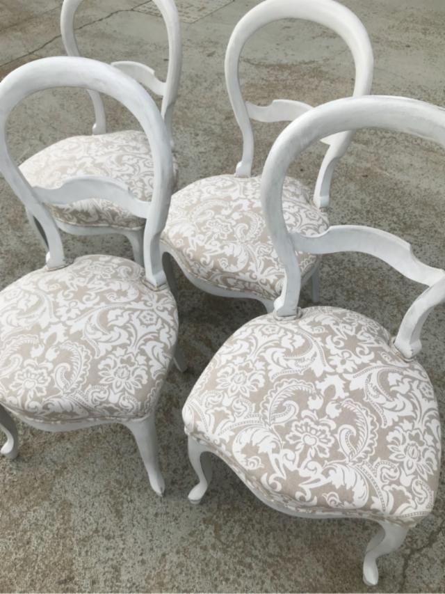 Cuatro sillas comedor de segunda mano en Madrid - wallapop | Tienda ...