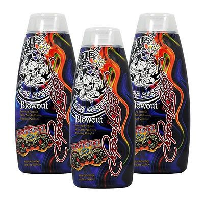 cool Lot 3 Ed Hardy Blowout Indoor Tanning Lotion Accelerator Bronzer Dark Tan Bed - For Sale Check more at http://shipperscentral.com/wp/product/lot-3-ed-hardy-blowout-indoor-tanning-lotion-accelerator-bronzer-dark-tan-bed-for-sale-2/