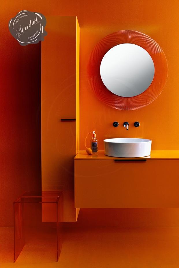 All Orange Bathroom Ideas