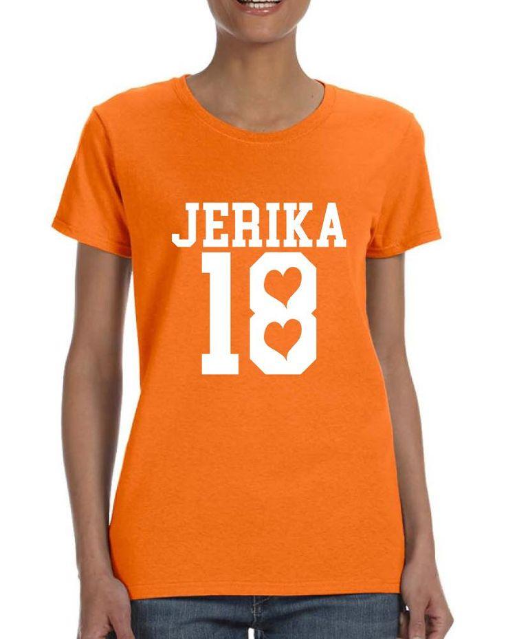 Women's T Shirt Jerika 18 Tee Shirt Cool Trendy Hot Tee