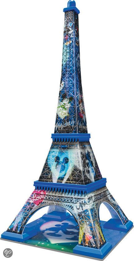 bol.com | Ravensburger Mickey Mouse Eiffeltoren - 3D puzzel | Speelgoed