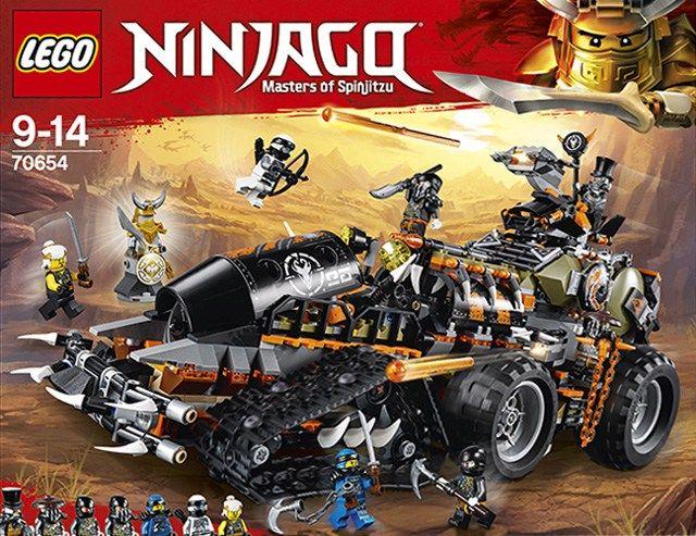 Nouveautés Lego Ninjago été 2018 Les Visuels Officiels Lego