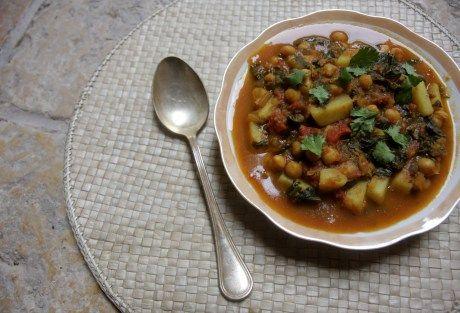 Ensopado de legumes indiano
