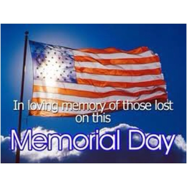 happy memorial day message
