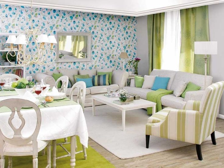 Decoraci n de salas y comedores peque os decoraci n - Decoracion de comedores pequenos ...