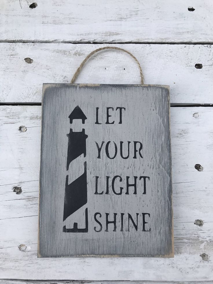 A personal favourite from my Etsy shop https://www.etsy.com/au/listing/549721942/let-your-light-shine-inspirational-quote