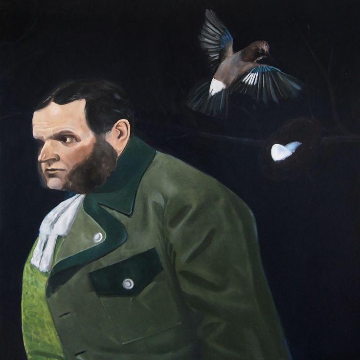 Trautenbergu!, Oil on canvas, 100x100