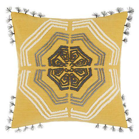 Buy John Lewis Zangoora Cushion Saffron Online At Johnlewis