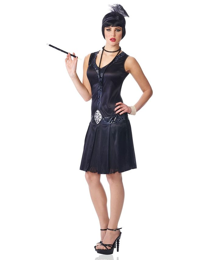 Chicago style flapper dress