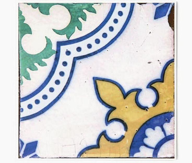 Decolfa Tile Sticker (Red) For DIY Decorate Home Design Art Kitchen Room Sink