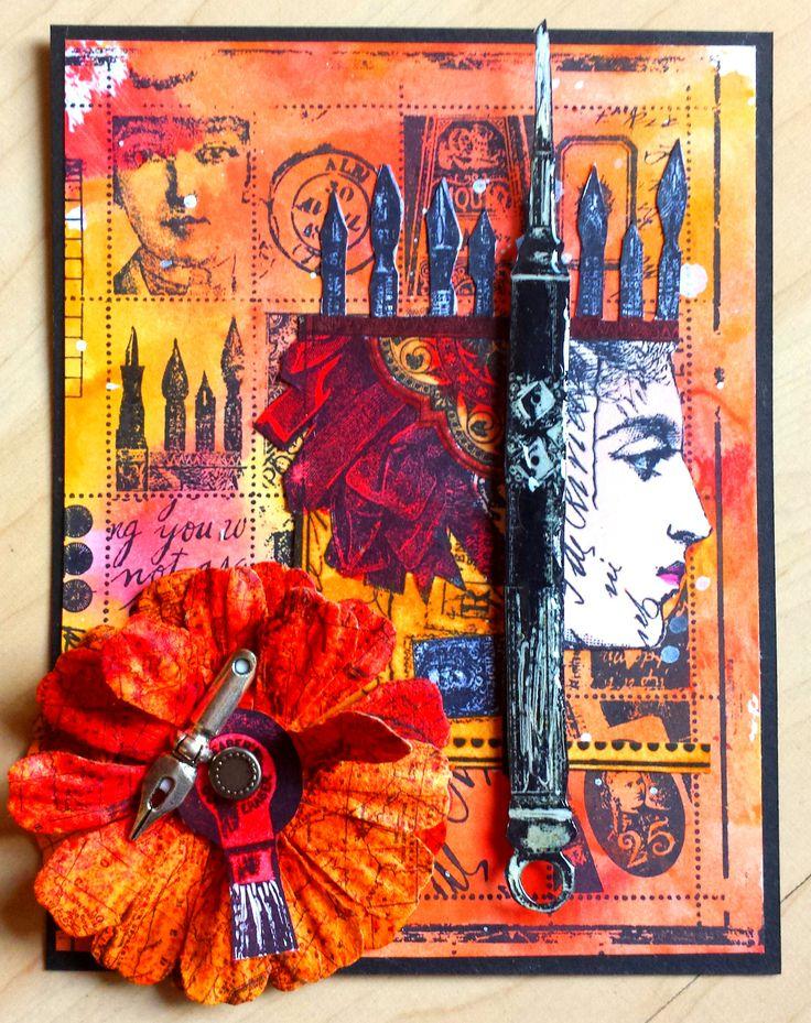 Stempel-Gewerkel: New Lynne Perrella Stamps