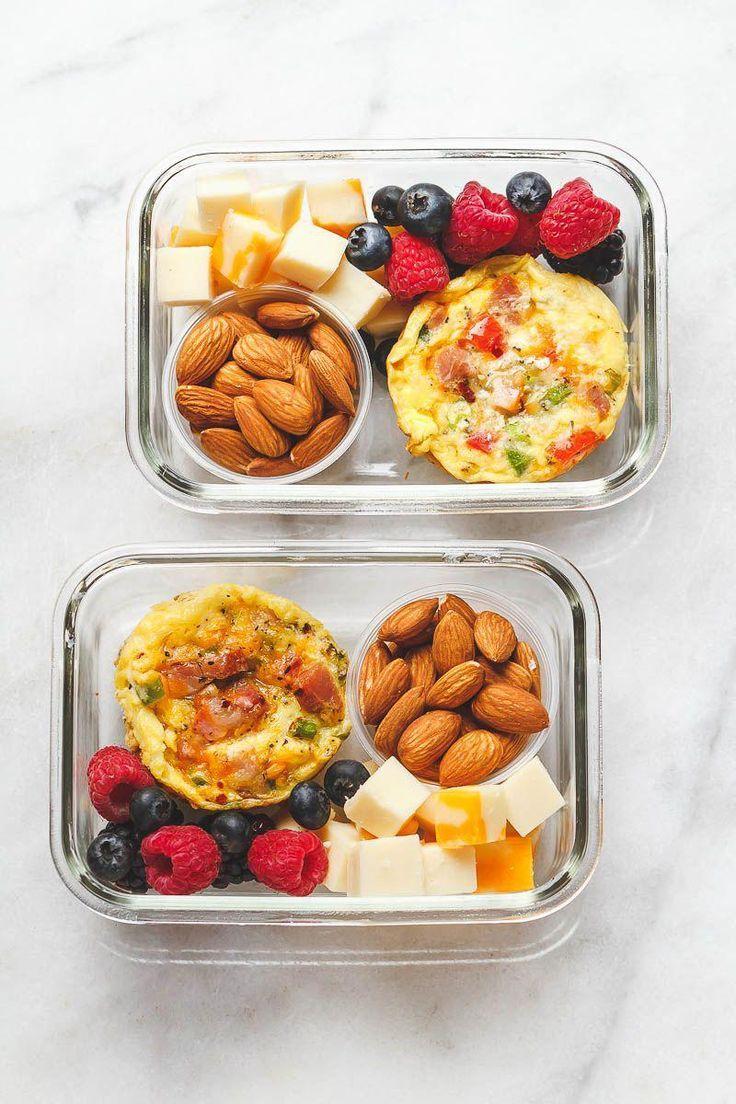 Keto Easy Repas Préparation Petit-déjeuner – emballé avec des protéines et si pratique pour les