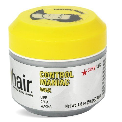 Sexy Hair Short Sexy Hair Control Maniac Wax, 1.8 Ounce by Sexy Hair. $11.99. Sexy hair short sexy hair control maniac wax is a superior wax that supplies extreme control and definition to give you style and shape that last all day.. Save 40%!