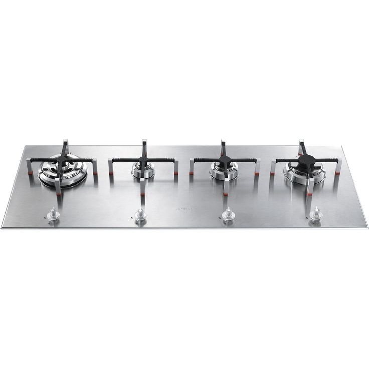 Buy Smeg Linea PX140 Stainless Steel 4 Burner Gas Hob (PX140) | Marks Electrical