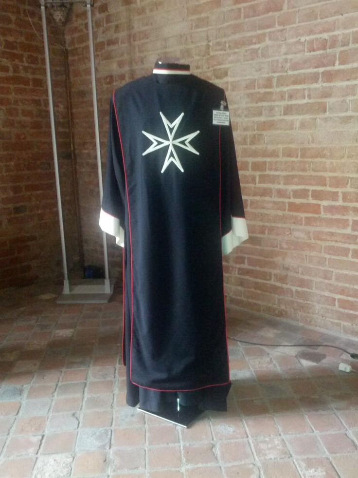 Church Robe of a Knight of Magistral Grace in Obedience. #OrderofMalta #SMOM