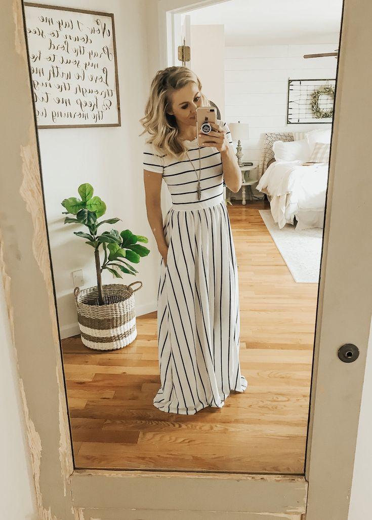 Affordable Maxi Dresses from Amazon - Sarah Joy Blog 1