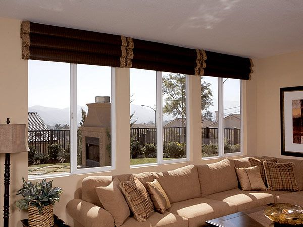 24 best fiberglass products images on pinterest for Traditional window treatments living room