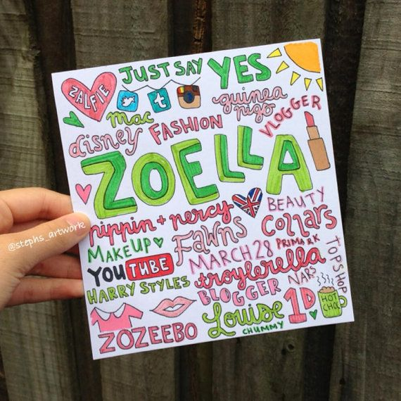 Hey, I found this really awesome Etsy listing at https://www.etsy.com/listing/183322208/zoella-colored-collage