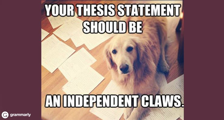 What's a good thesis statement about independence?