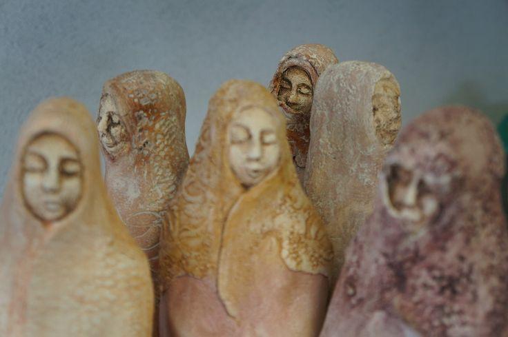 Mulheres Sábias - http://marianneouwendijk.exto.nl/kunstwerk/54067763_wijze+vrouwen.html#.Ug1qMZLVAaI