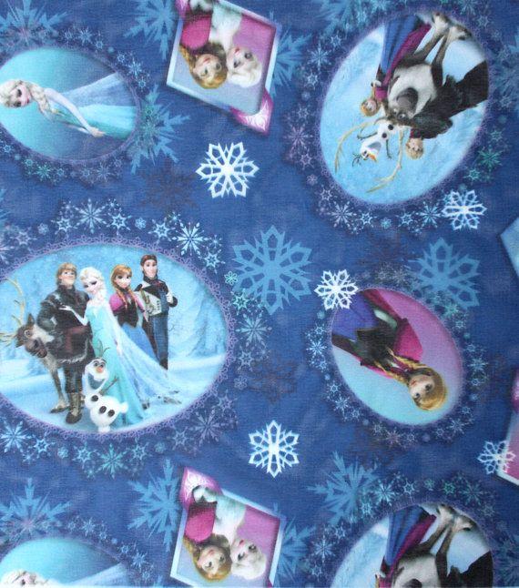 Disney Frozen Scene Sheer Fabric Patch Anna by TulleandTaffeta