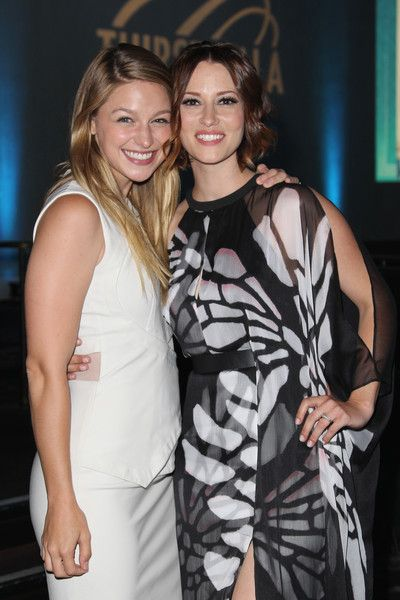 Chyler Leigh Photos - Actors Melissa Benoist (L) and Chyler Leigh attend the 6th…