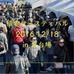 稲妻フェスティバル201612/18にお台場で開催