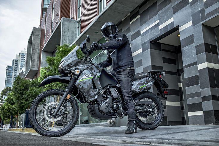 2016 KLR™650 CAMO Dual Purpose Motorcycle by Kawasaki