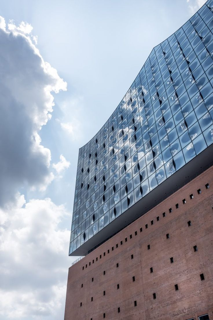 Free stock photo of Elbphilharmonie and sky with Architecture and Cityscape Travel Locations architecture building city concert construction design Elbe Elbphilharmonie europe exterior facade germany glass hafen Hafencity Hall hamburg landmark modern music Philharmonic river sky town travel