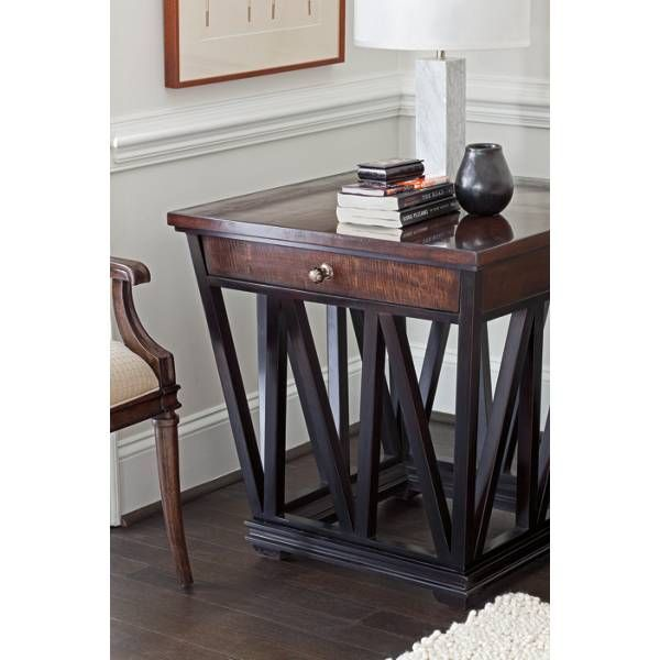 Avalon Heights Empire Drawer End Table Dining Room Sets Bedroom Furniture Curio Cabinets And Solid Wood