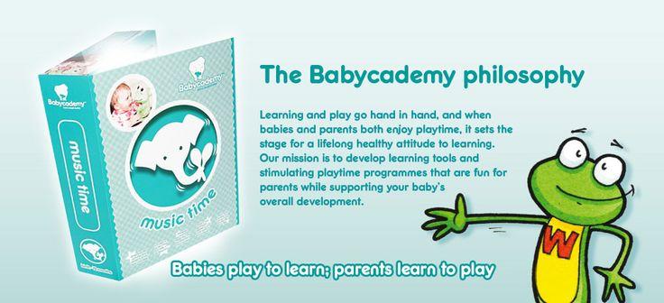 The Babycademy philosophy #music #playtime #fun #babies