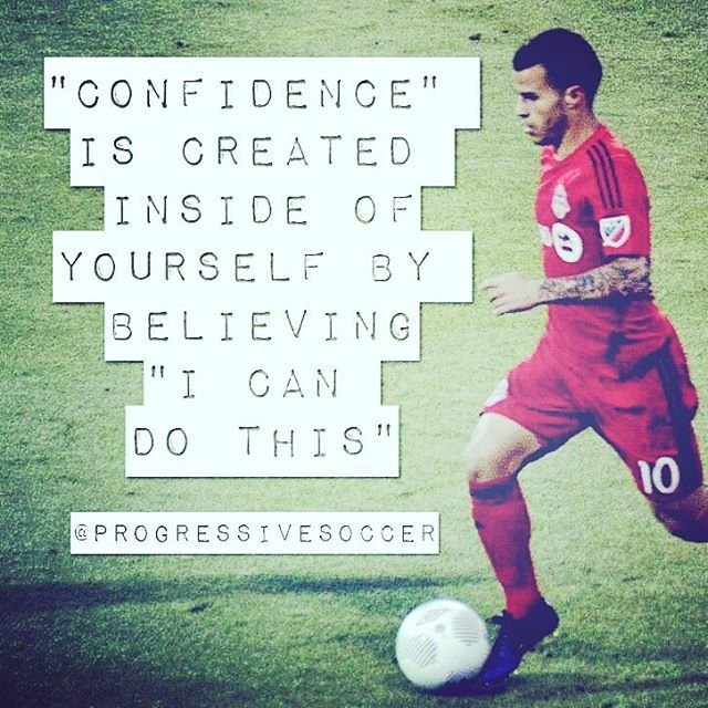 """Confidence isn't given to you by something or someone else. It's created by yourself in your mind. So stop looking to someone else to solve your confidence problems. Take responsibility and change the way you talk to yourself in your mind. Everyday in every situation tell yourself """"I can do this"""""""