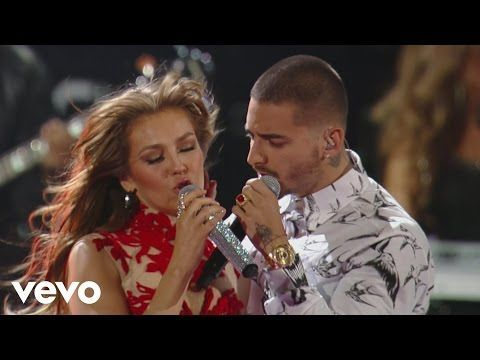 """""""Desde Esa Noche"""" Thalía feat. Maluma (Premio Lo Nuestro 2016) """"Desde Esa Noche"""" available on iTunes here: http://smarturl.it/DesdeEsaNoche """"Desde Esa Noche""""..."""