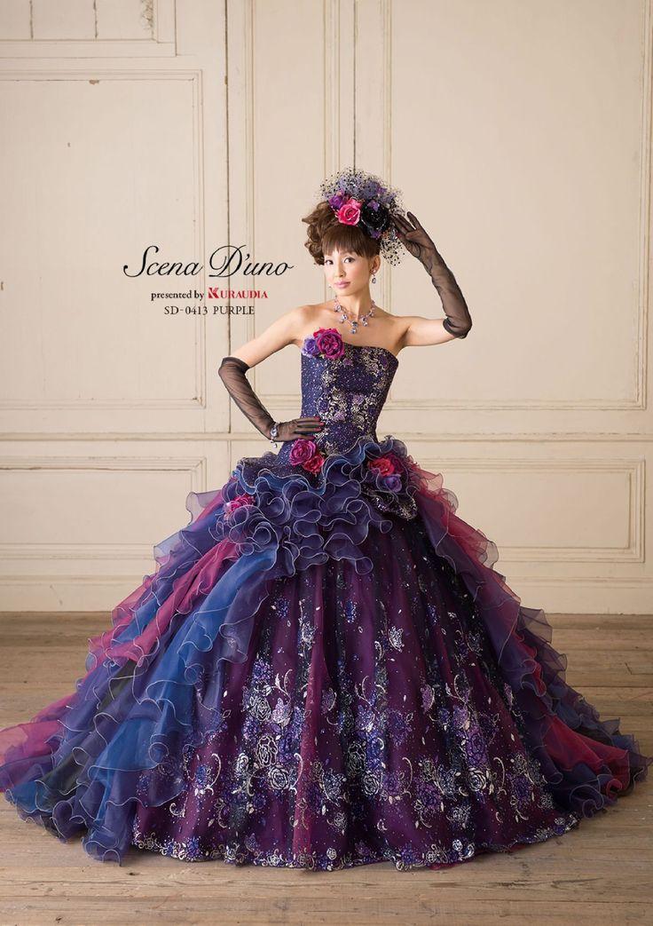 Scena D'uno dball~dress ballgown