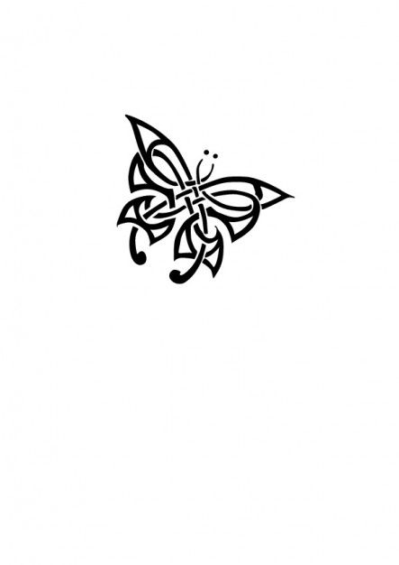 Tribal butterfly tattoo .... Want this in may back!