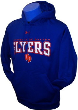 Product: Armour Fleece Hood with Dayton over UD