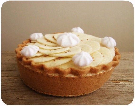 Banana Cream Pie by milkfly on Etsy