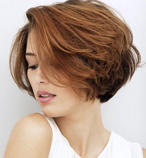 mag ich und für ähnliches styling bekam ich schon überraschende komplimente, aber dieses gefussel um die augen rum kann einen ja wahnsinnig machen. Trendy Textured Short Hairstyle