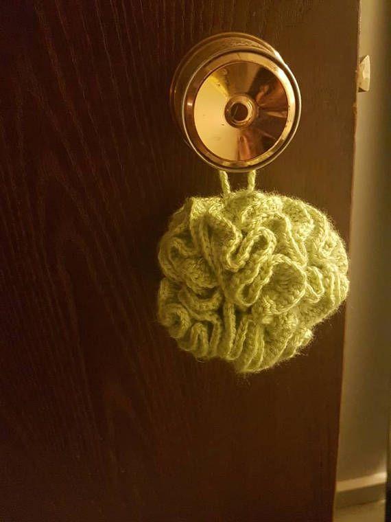 Crochet loofah
