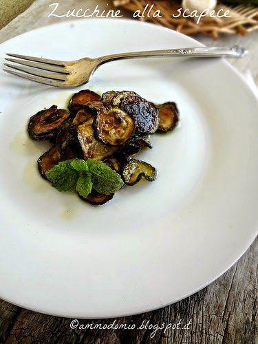 Zucchine alla scapece | #vegan #vegetarian