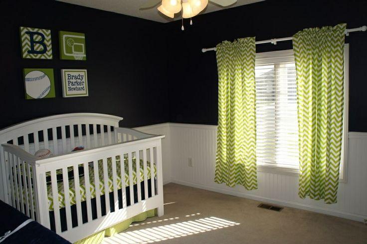 Brady's nursery...almost done!