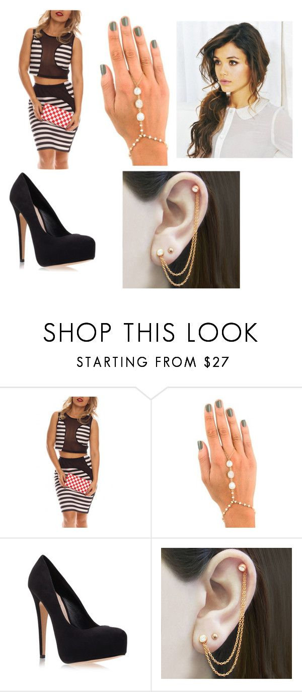 """""""Untitled #93"""" by kennedy-942 ❤ liked on Polyvore featuring ela rae, Carvela Kurt Geiger and Embers Gemstone Jewellery"""